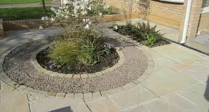 The sandstone garden